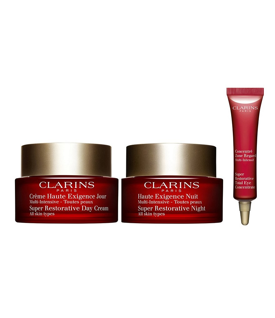 Clarins Super Restorative Day and Night Kit