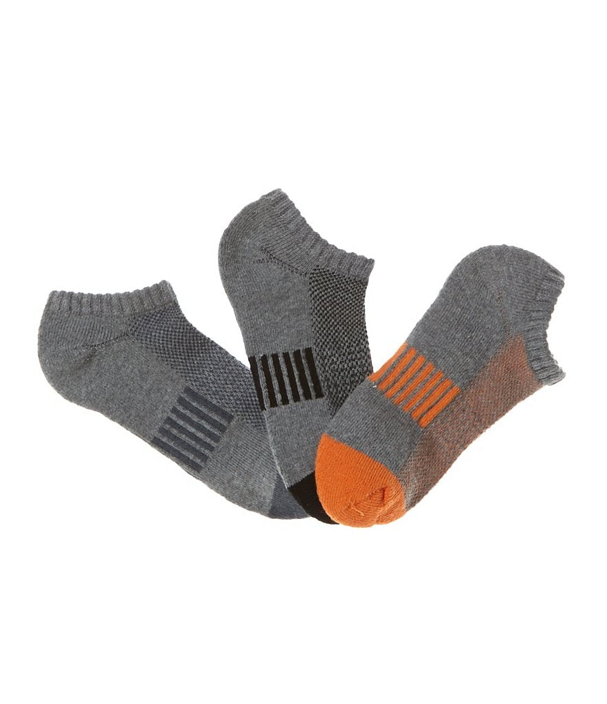 Class Club Boys 3-Pack Athletic No-Show Socks