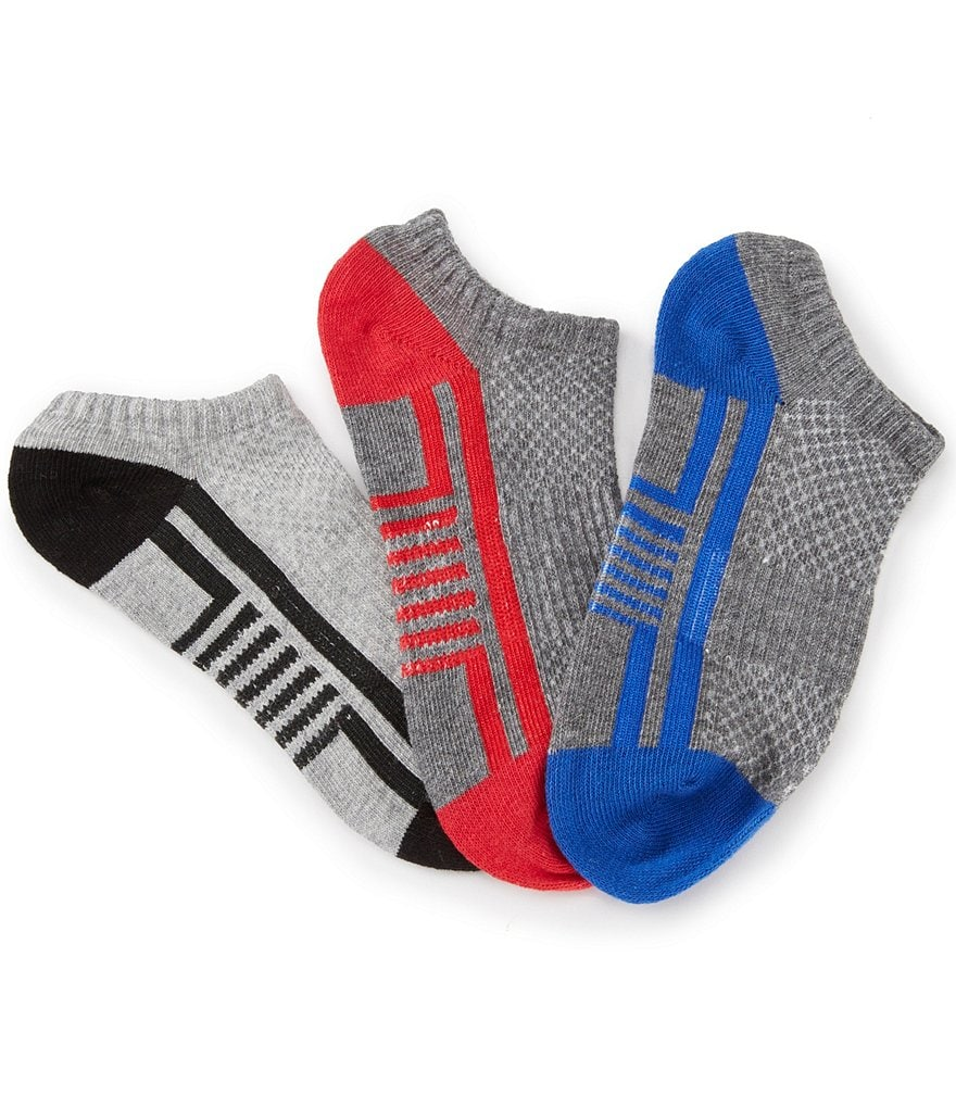 Class Club 3-Pack No Show Athletic Socks