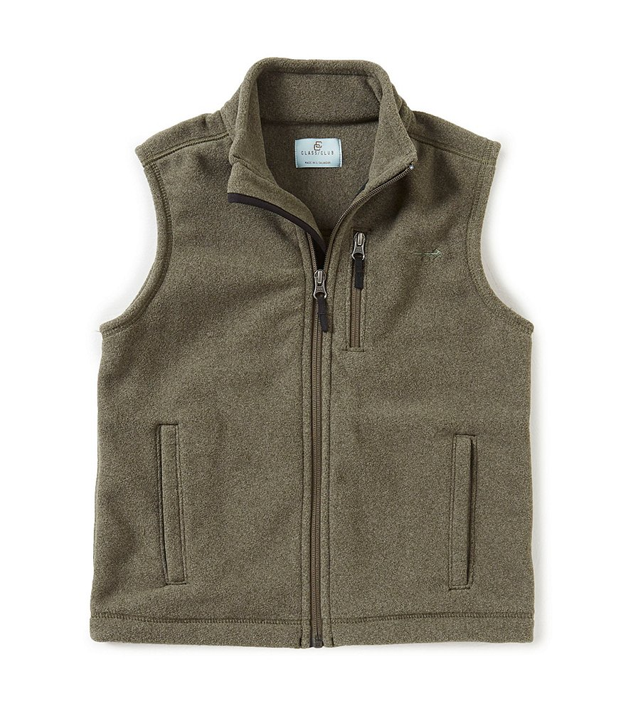 Class Club Big Boys 8-20 Fleece Vest