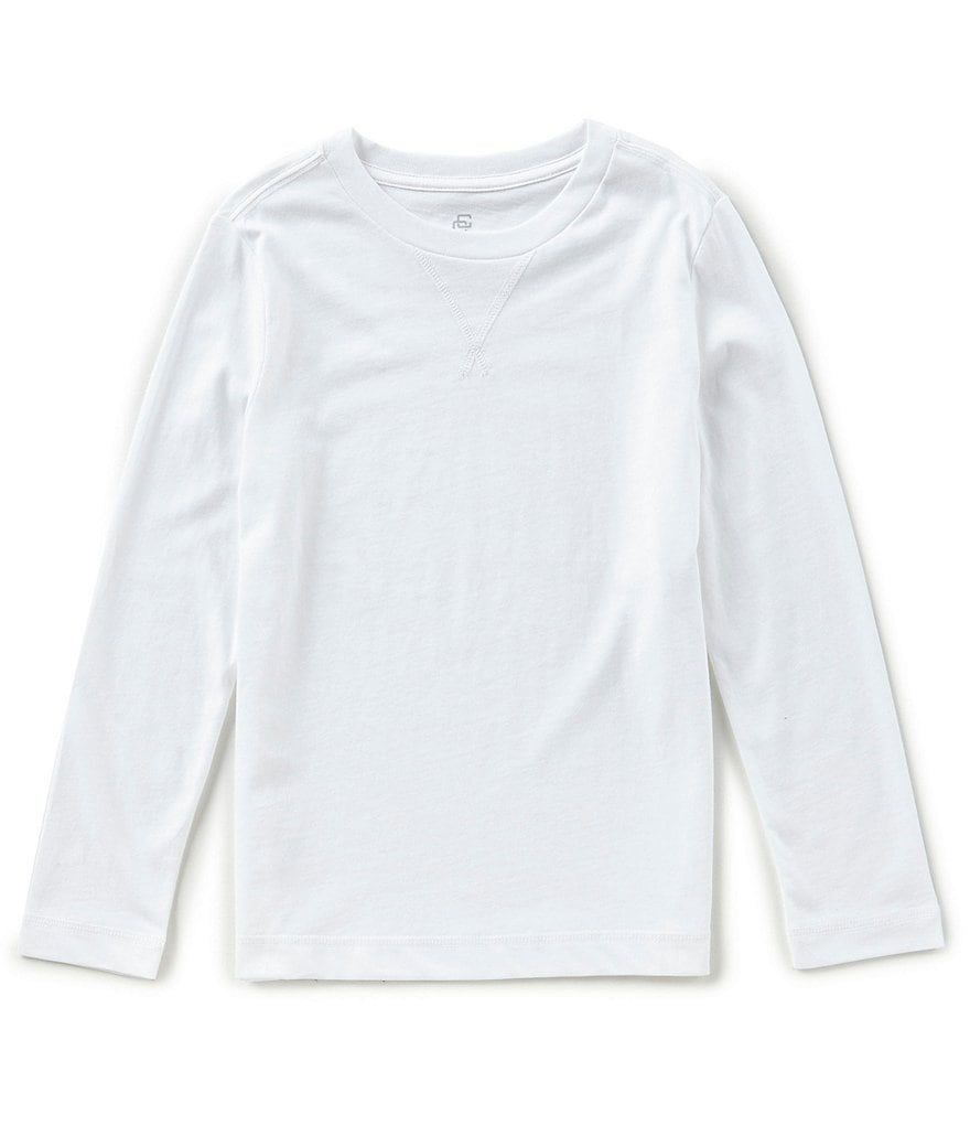 Class Club Big Boys 8-20 Long-Sleeve Shirt