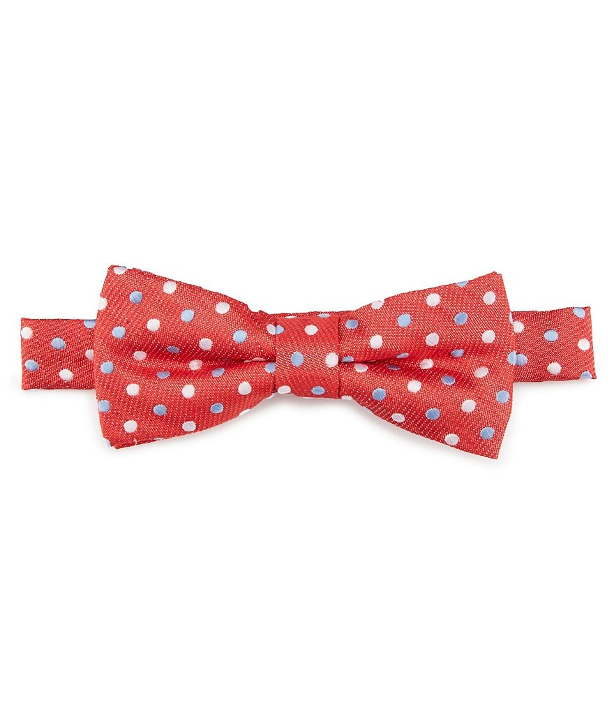 Class Club Chambray Dotted Bow Tie