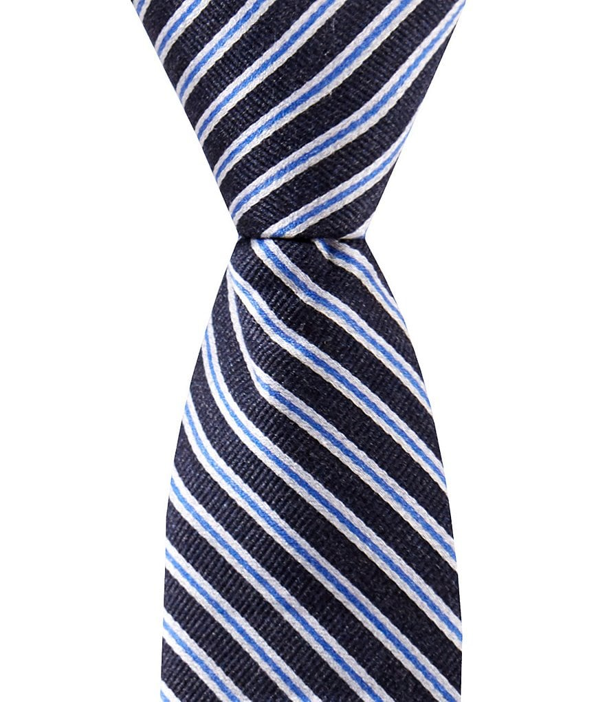 Class Club Gold Label Boys 12#double; Thin Stripe Tie