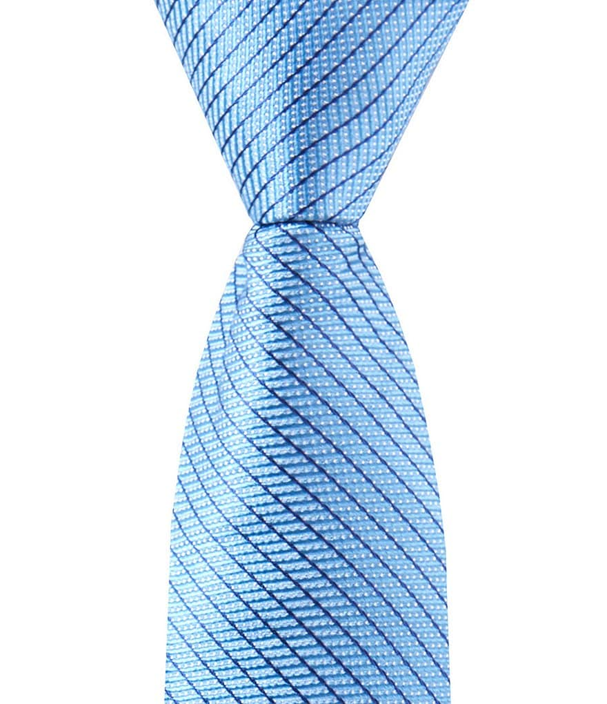 Class Club Gold Label Boys 50#double; Micro-Stripe Tie