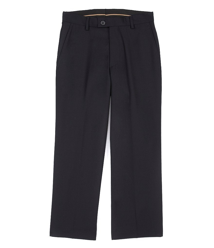 Class Club Gold Label Big Boys 8-20 Flat-Front Dress Pants