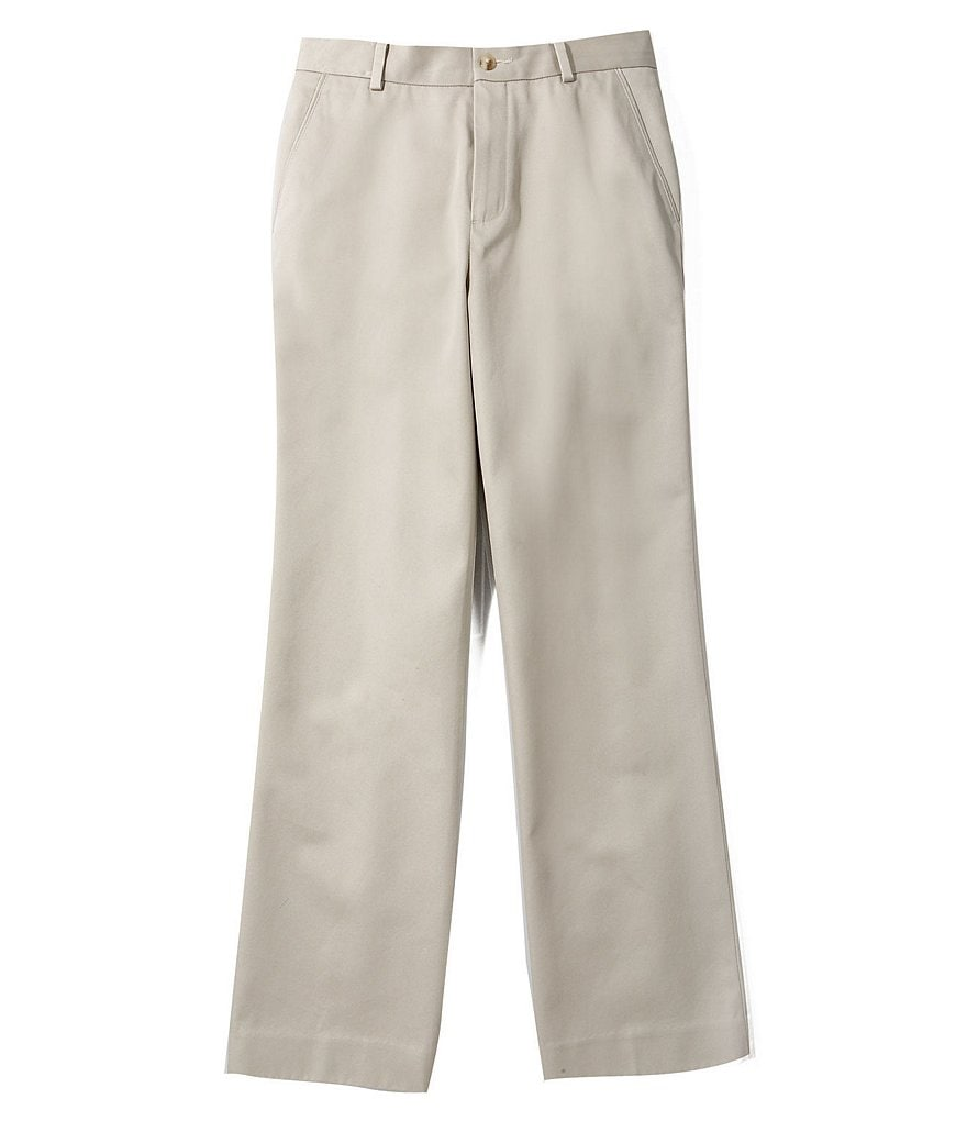 Class Club Gold Label Big Boys 8-20 Flat-Front Twill Chino Pants