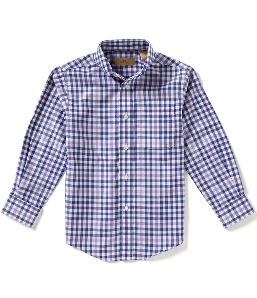 Class Club Gold Label Little Boys 2T-7 Checked Shirt