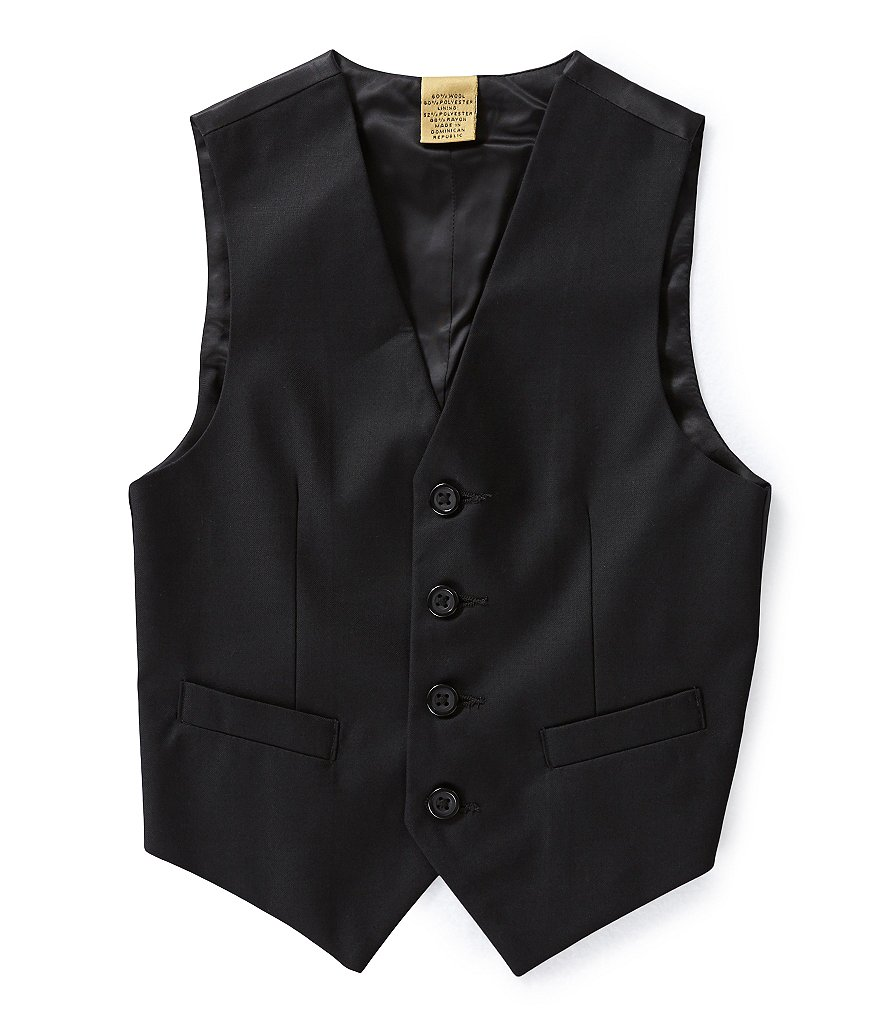 Class Club Gold Label Little Boys 2T-7 Dress Vest