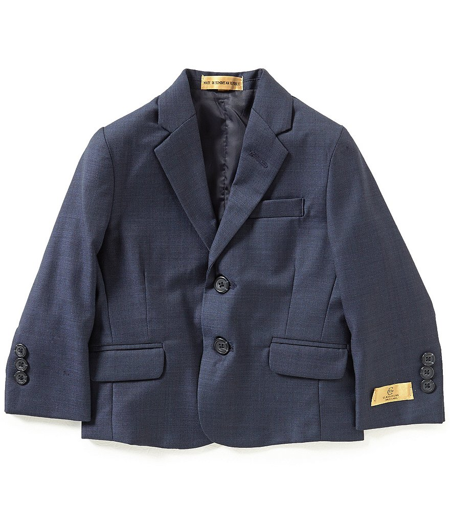 Class Club Gold Label Little Boys 2T-7 Sharkskin Blazer