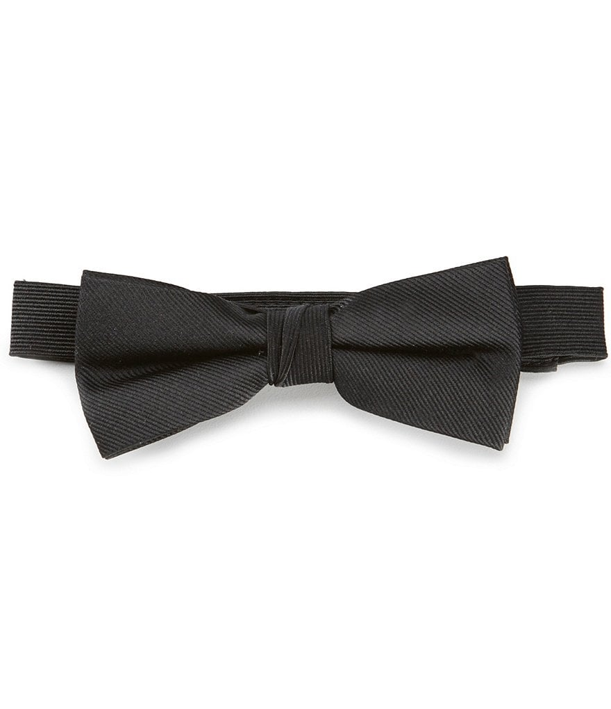 Class Club Gold Label Boys Solid Bow Tie