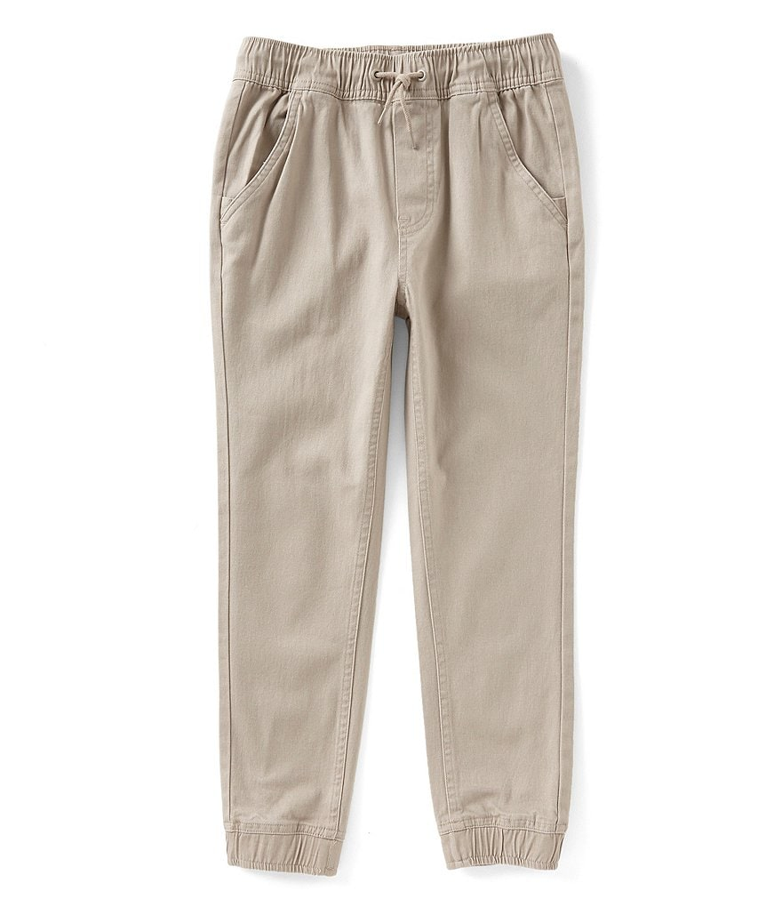 Class Club Little Boys 2T-7 Pull-On Twill Jogger Pants
