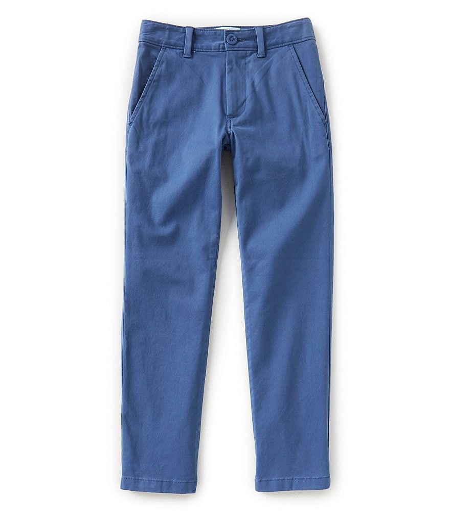 Class Club Little Boys 2T-7 Stretch Twill Pants