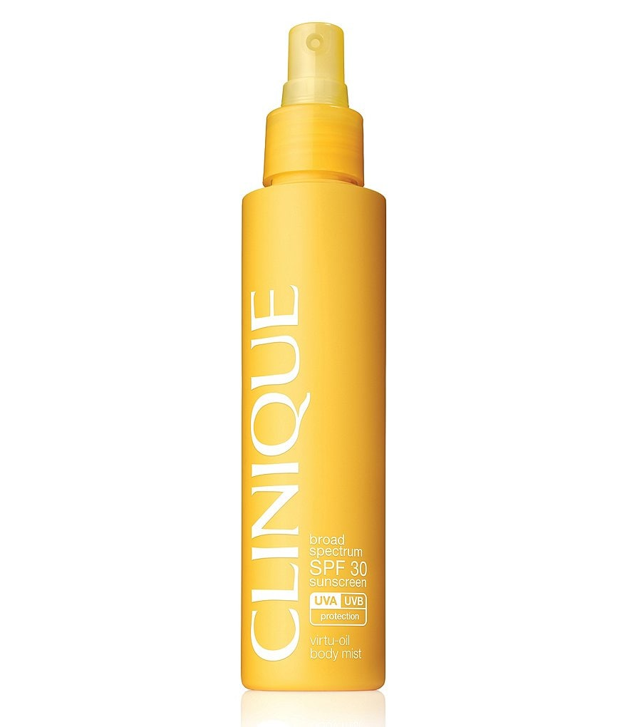 Clinique Broad Spectrum SPF 30 Sunscreen Virtu-Oil Body Mist