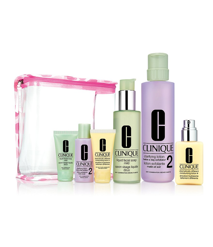 Clinique Great Skin Everywhere 1/2 Set For Drier Skin