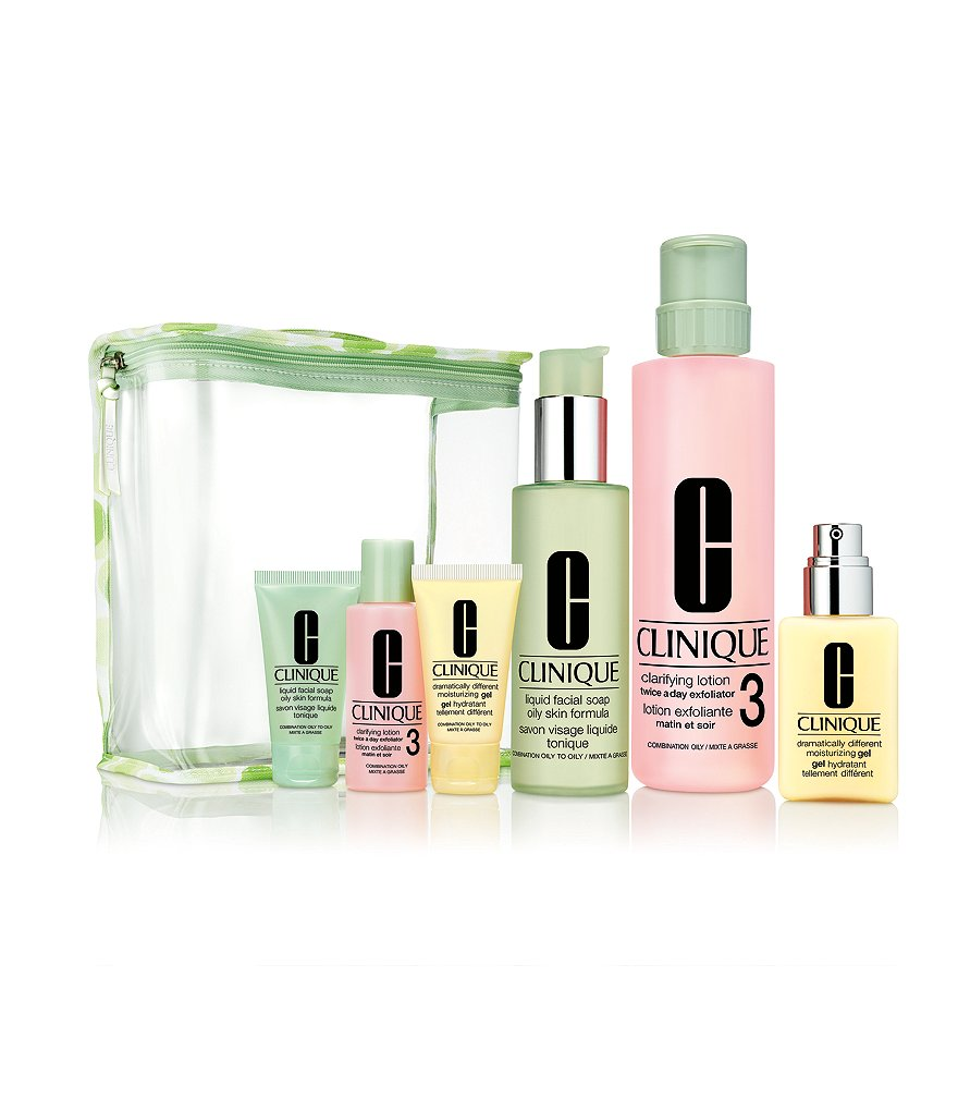 Clinique Great Skin Everywhere Set For Oilier Skin 3/4