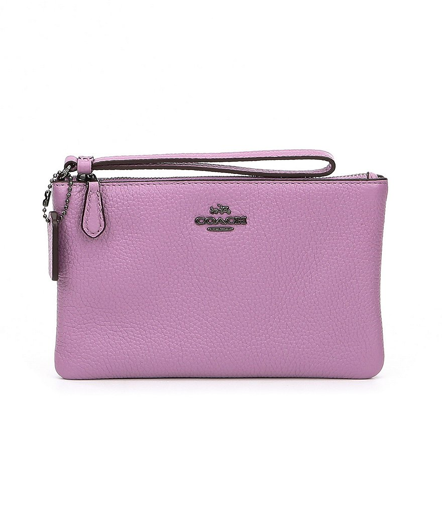 COACH BOXED SMALL WRISTLET