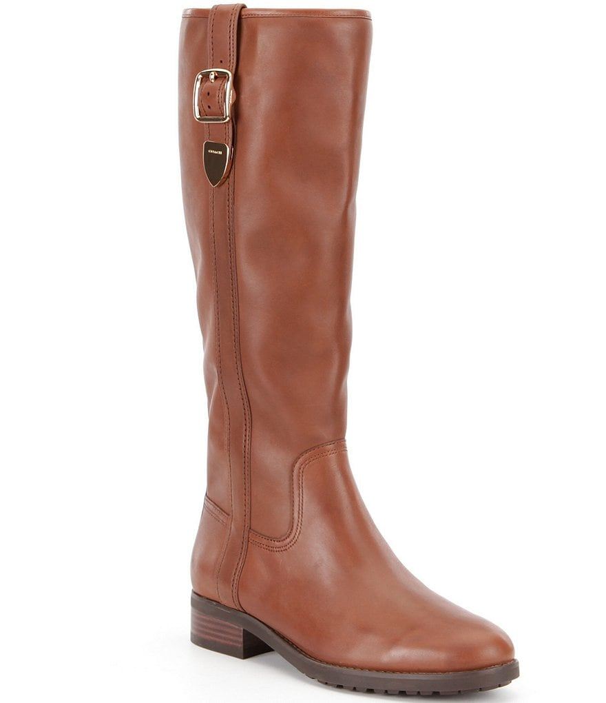 COACH EASTON WIDE CALF RIDING BOOT