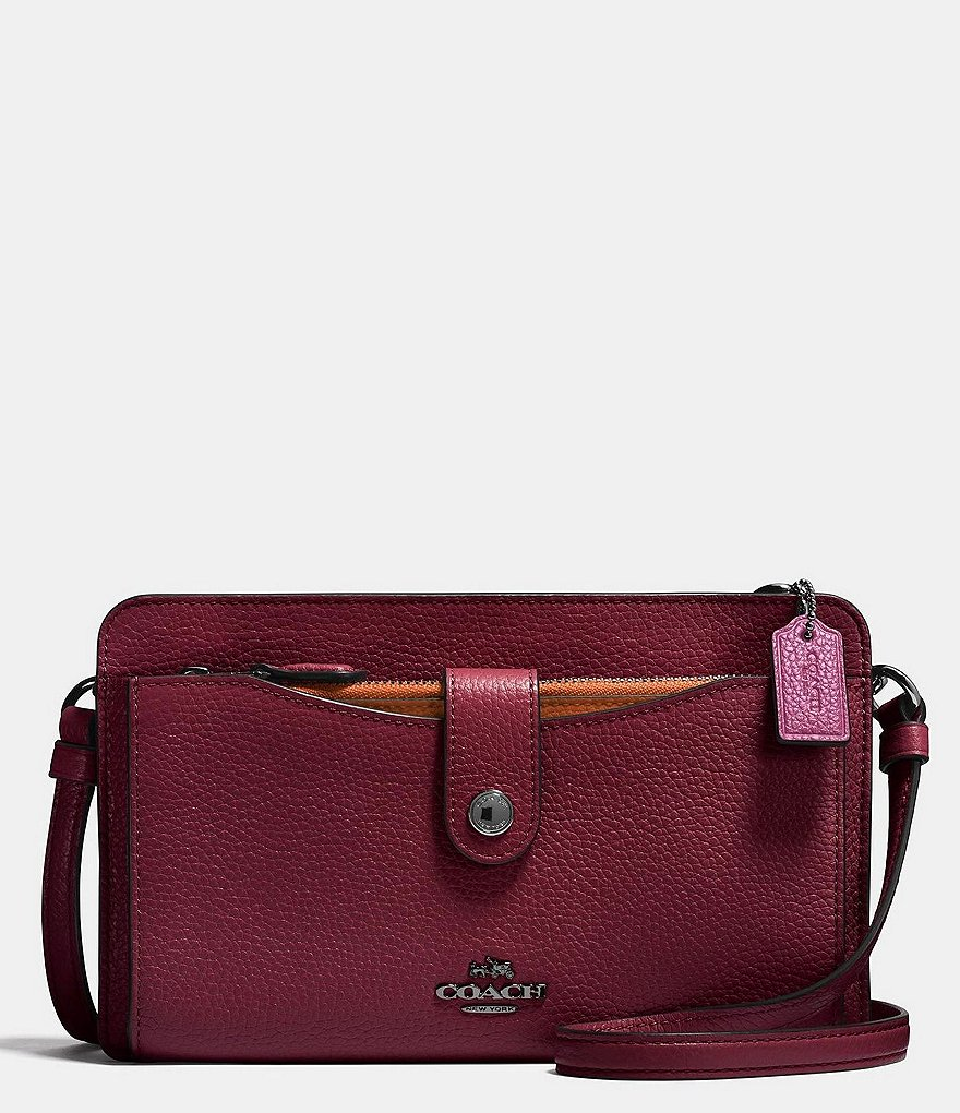 COACH POP-UP COLORBLOCK CROSS-BODY BAG