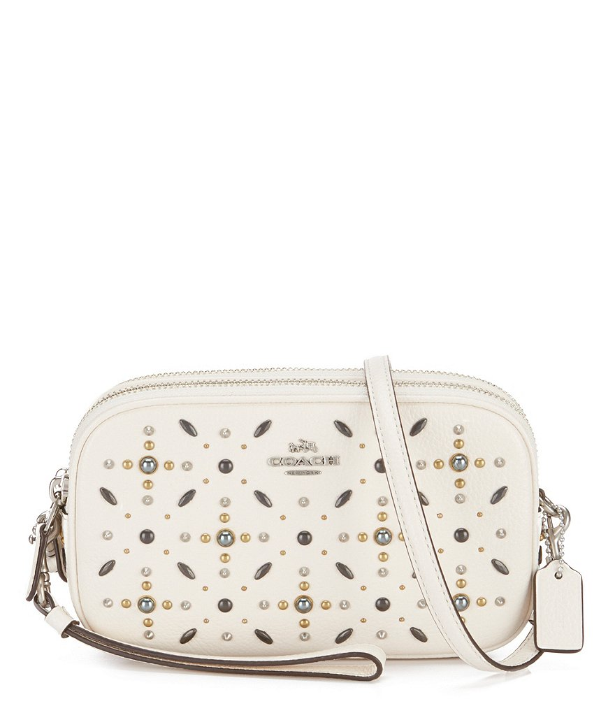 COACH PRAIRIE RIVETS CROSS-BODY CLUTCH