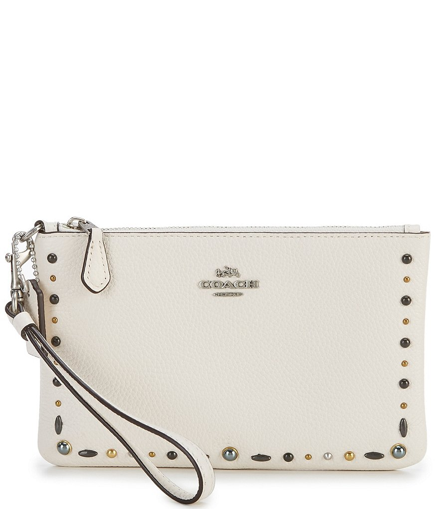 COACH PRAIRIE RIVETS SMALL WRISTLET
