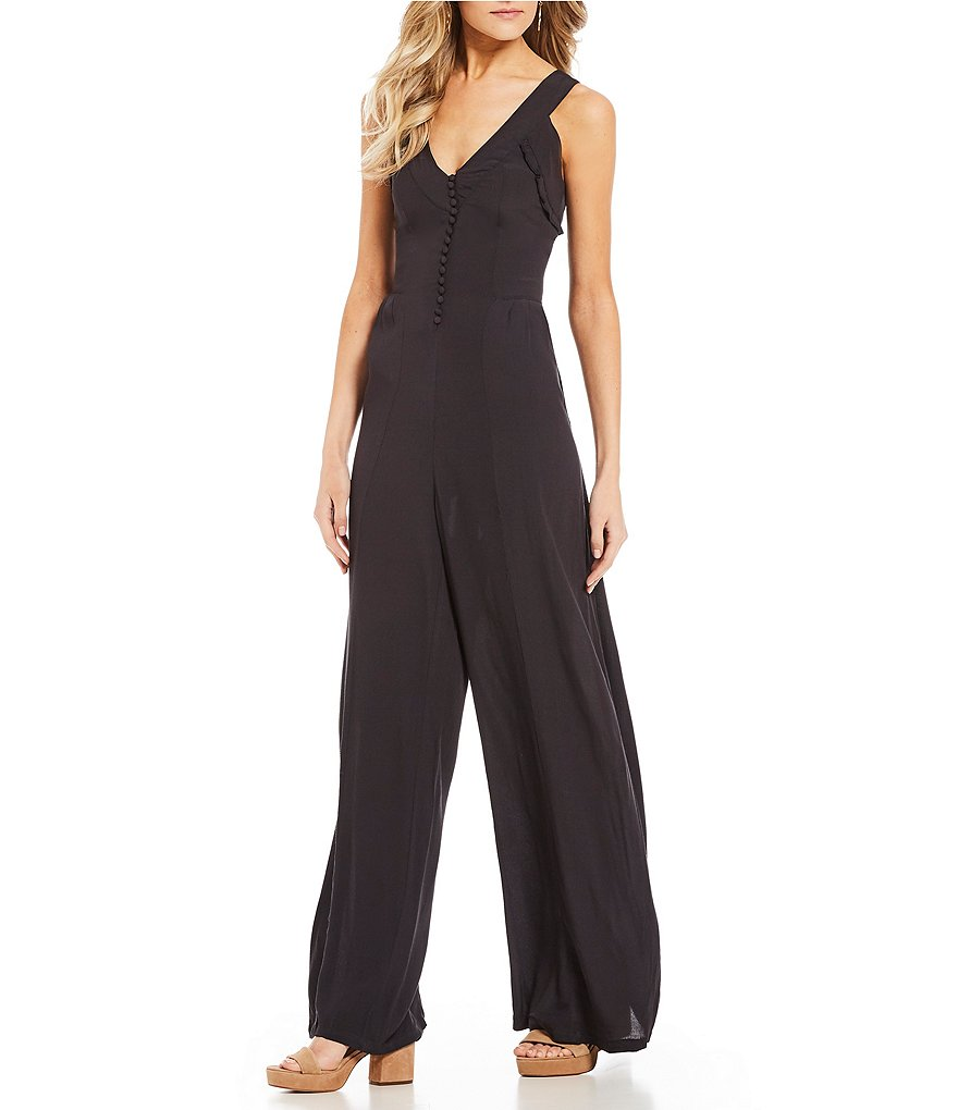 Coco + Jaimeson Pleated Jumpsuit