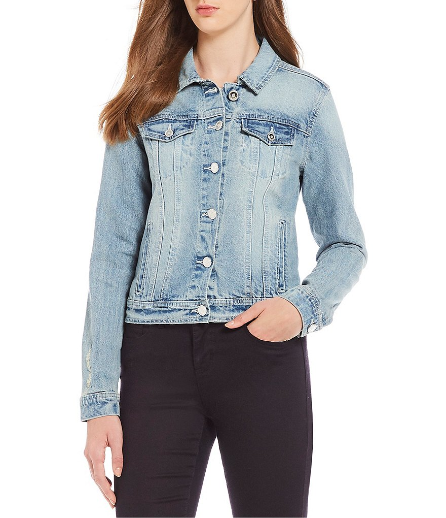 Code Bleu Gracie Denim Boyfriend Jacket