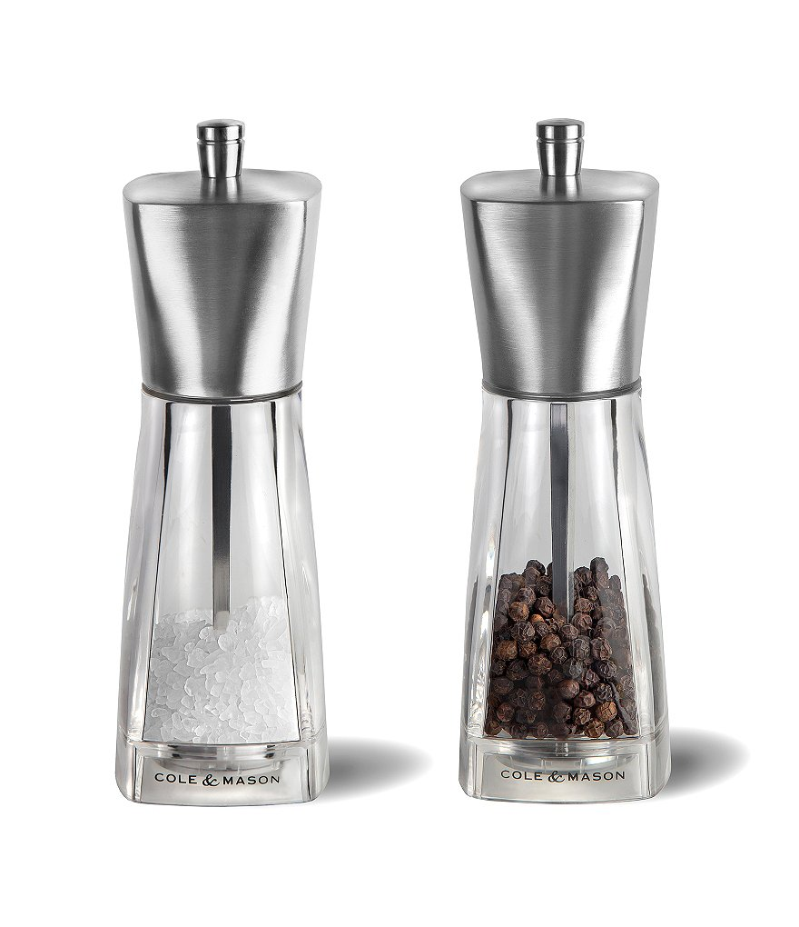 Cole and Mason York Salt & Pepper Mills