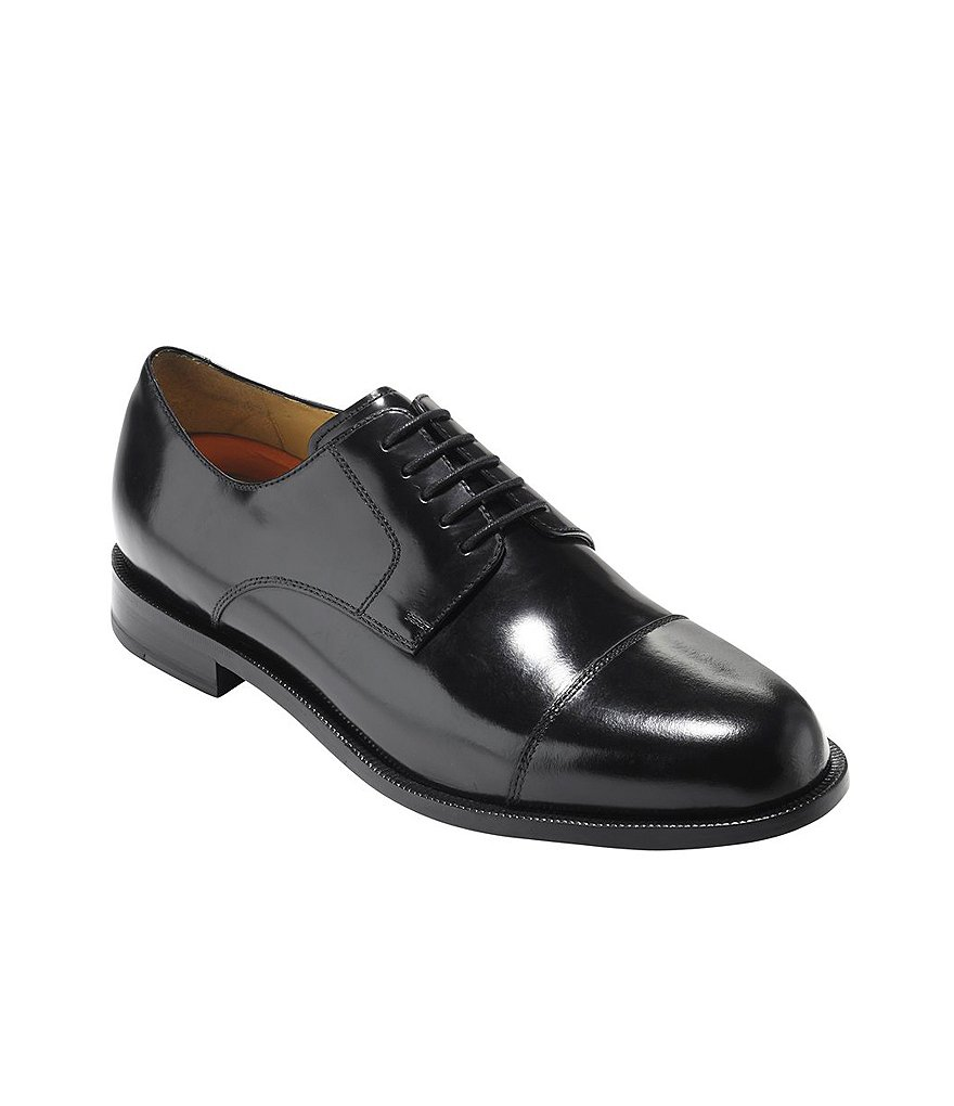 Cole Haan Carter Grand.OS Cap-Toe Dress Shoes