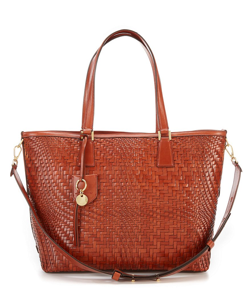 Cole Haan Genevieve Woven Tote