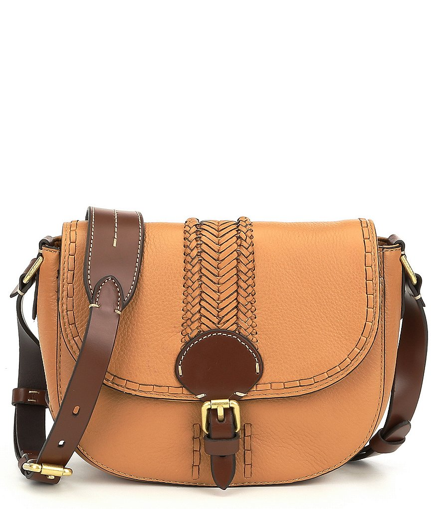 Cole Haan Loralie Whip-Stitched Mini Saddle Bag
