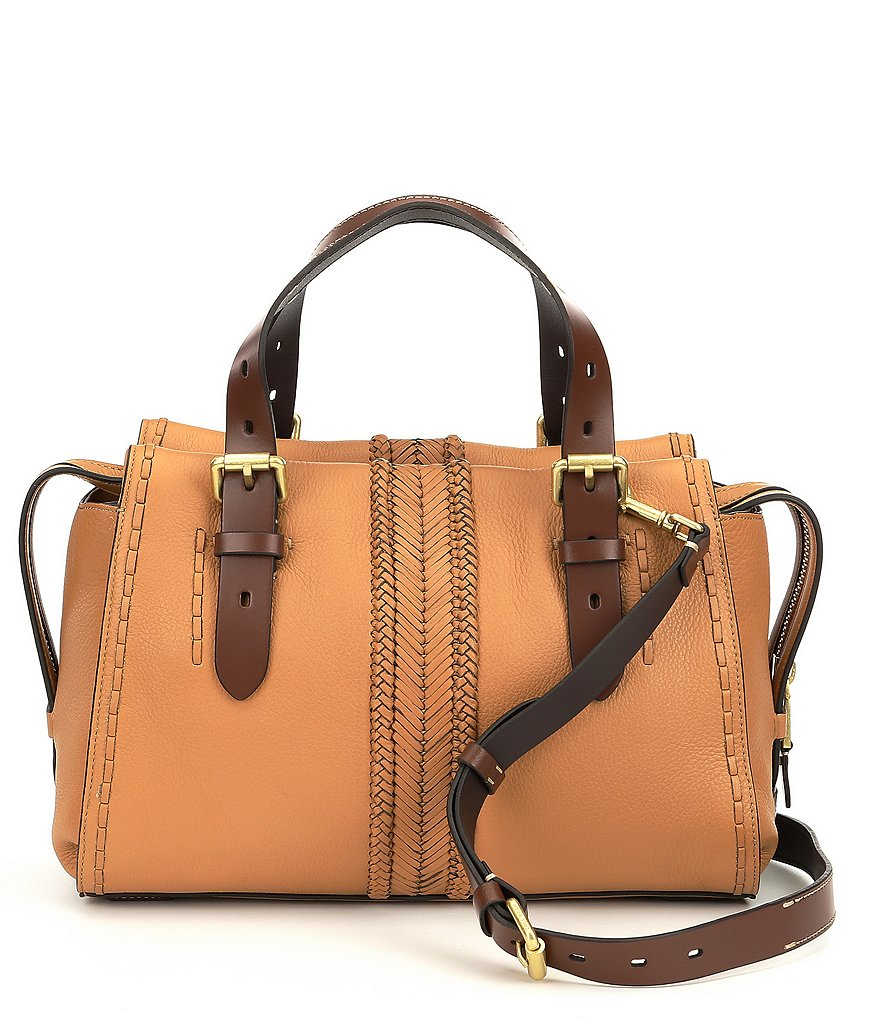 Cole Haan Loralie Whip-Stitched Satchel