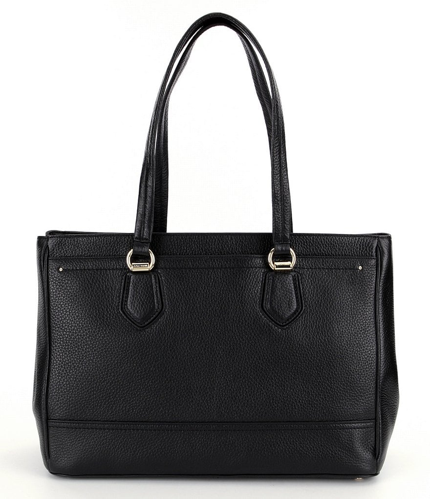 Cole Haan Tali Double-Zip Laptop Work Tote