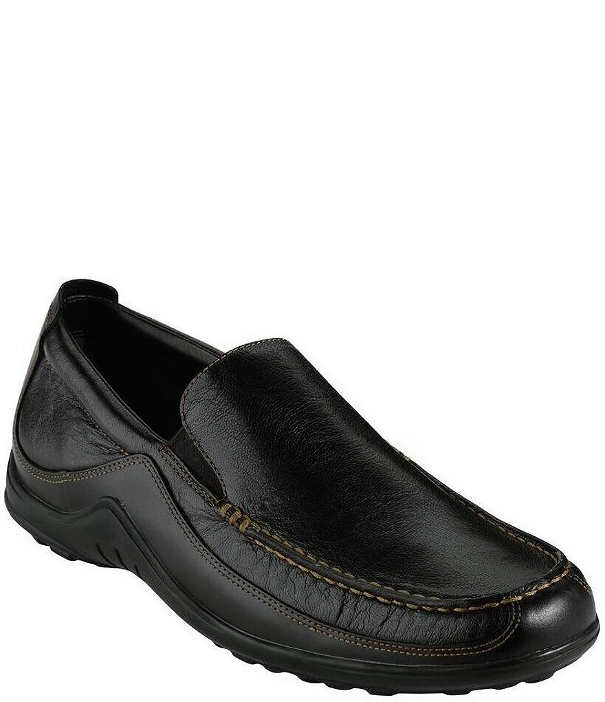 Cole Haan Black Slip On Shoes