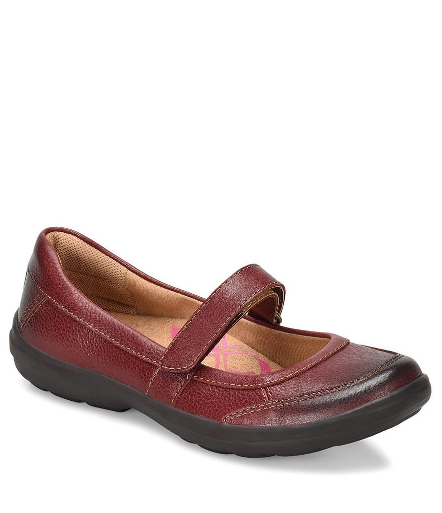 Comfortiva Roma Leather Mary Janes
