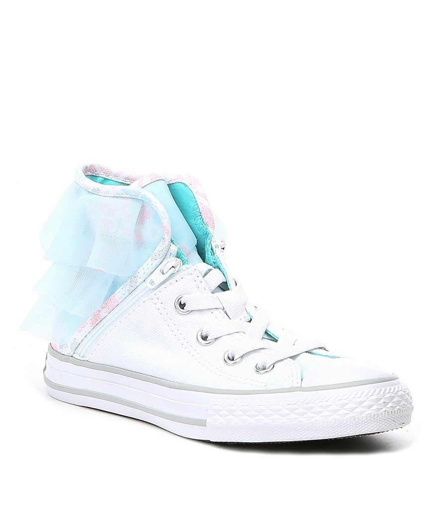 Converse Girls' Chuck Taylor® All Star® Canvas Block Party Hi Top Sneakers