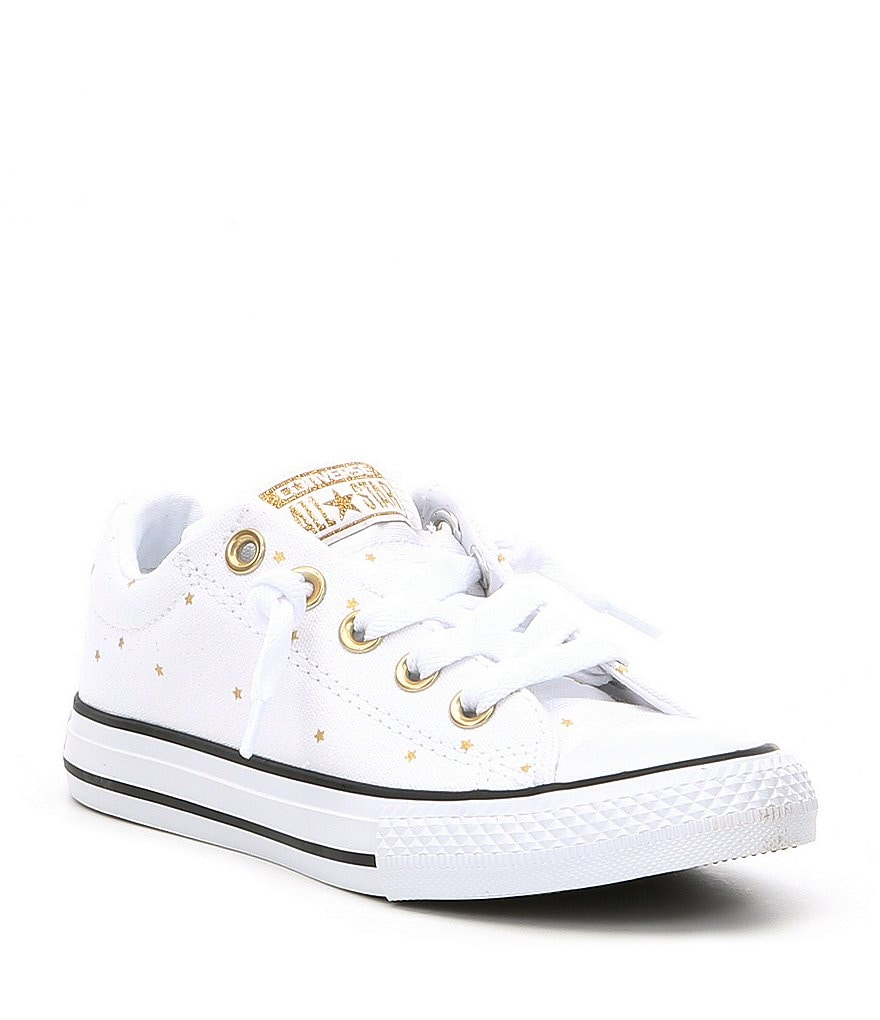 Converse Girls Chuck TaylorR All StarR Street Slip Sneakers