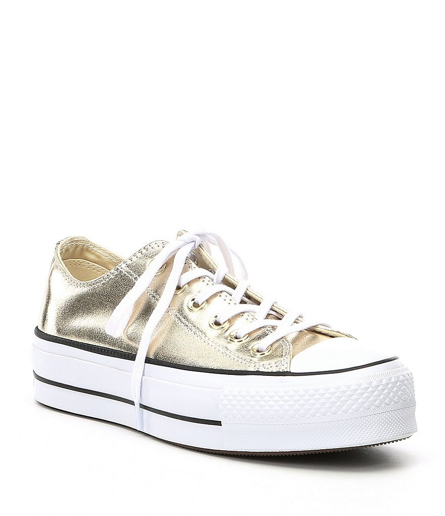 Converse Women's Chuck Taylor® All Star® Metallic Canvas Lift Sneakers
