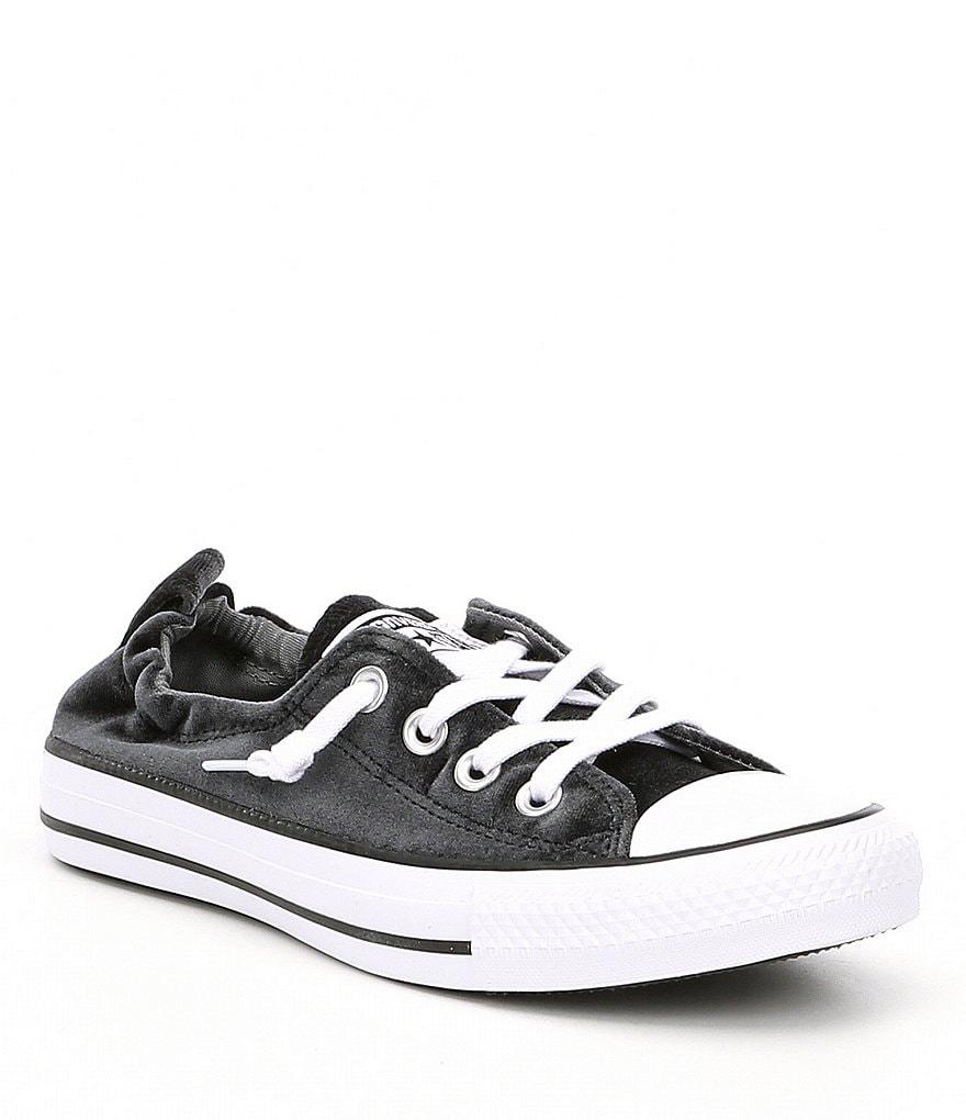 converse womens. converse women´s shoreline velvet slip-on sneakers womens