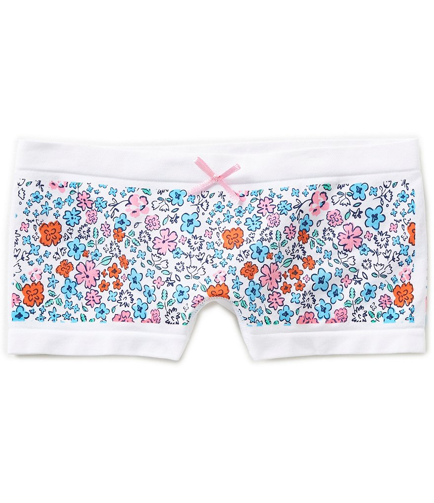 Copper Key Big Girls 7-16 Seamless Floral Boyshort