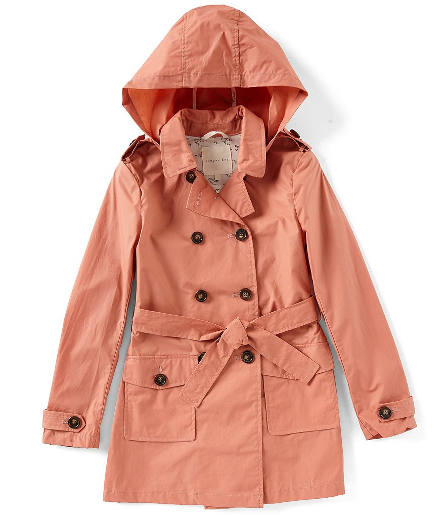 Copper Key Big Girls 7-16 Detachable Hood Coat