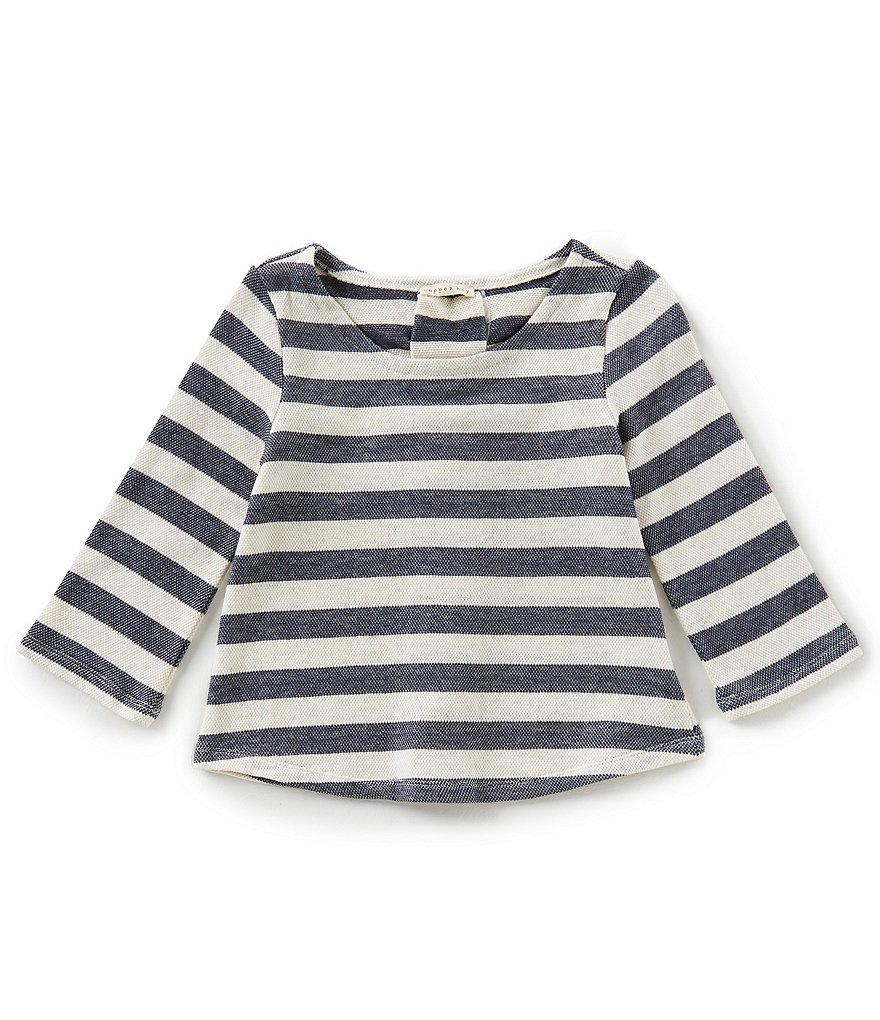 Copper Key Big Girls 7-16 Striped Lace-Up Back Top