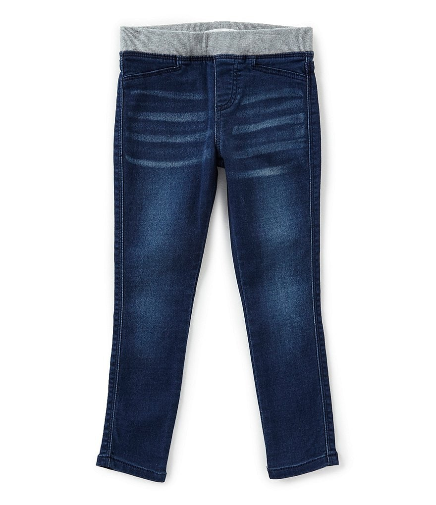 Copper Key Little Girls 2T-6X Knit Denim Jeggings