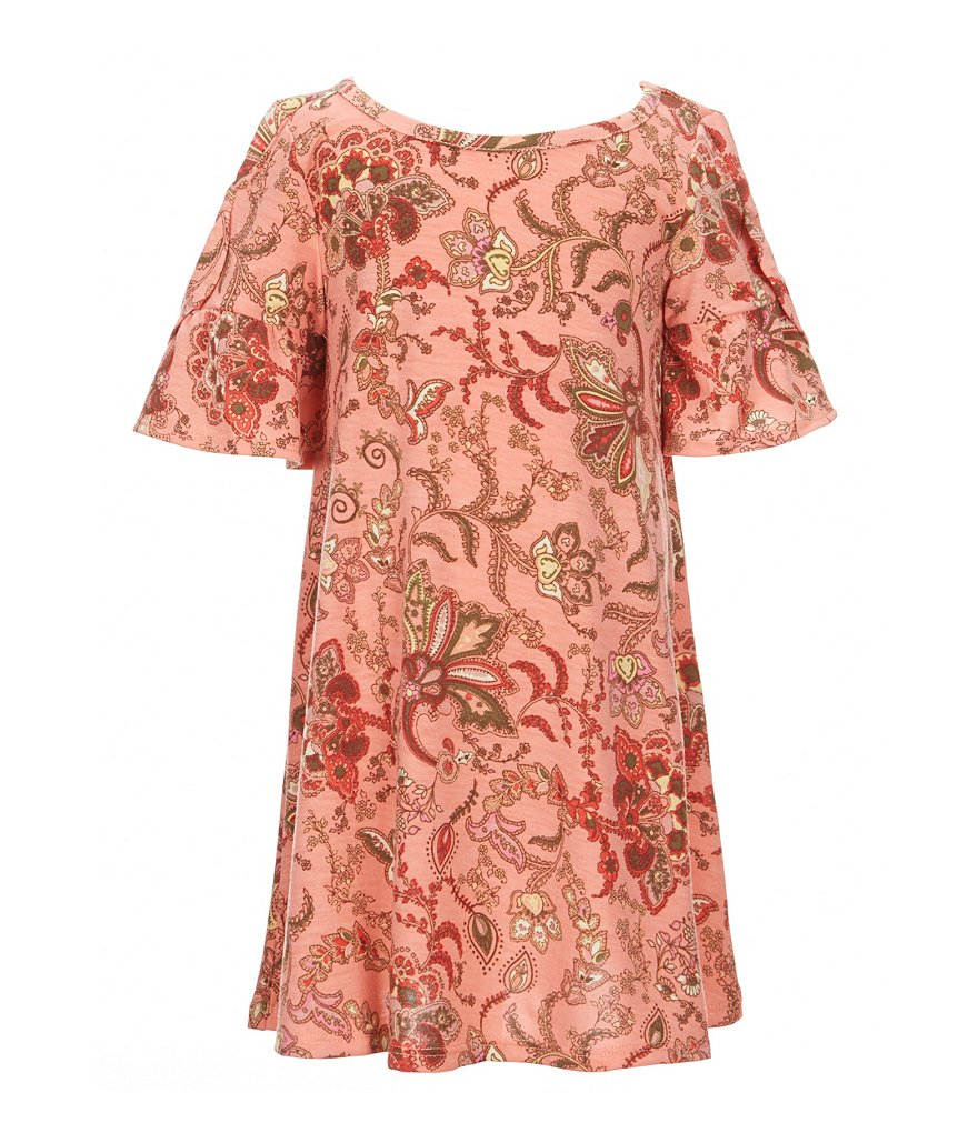 Copper Key Little Girls 4-6X Short-Sleeve Printed Dress