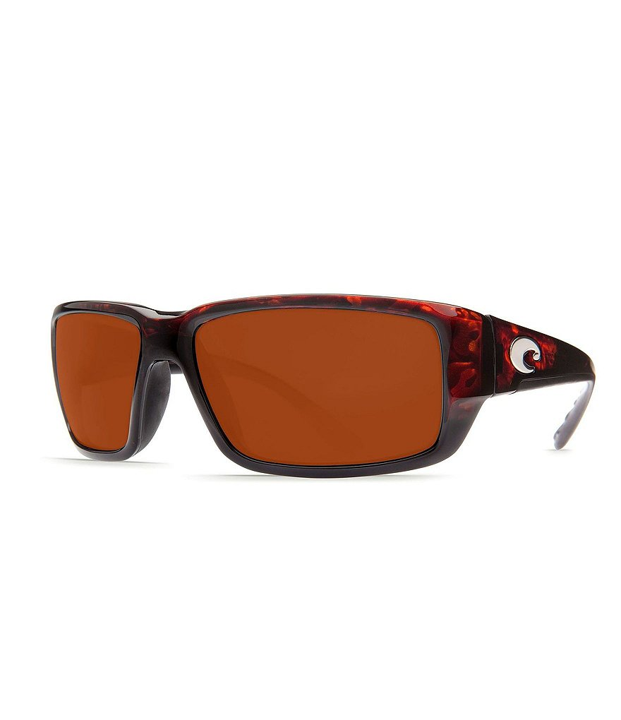 Costa Fantail Polarized Tortoise Copper Sunglasses