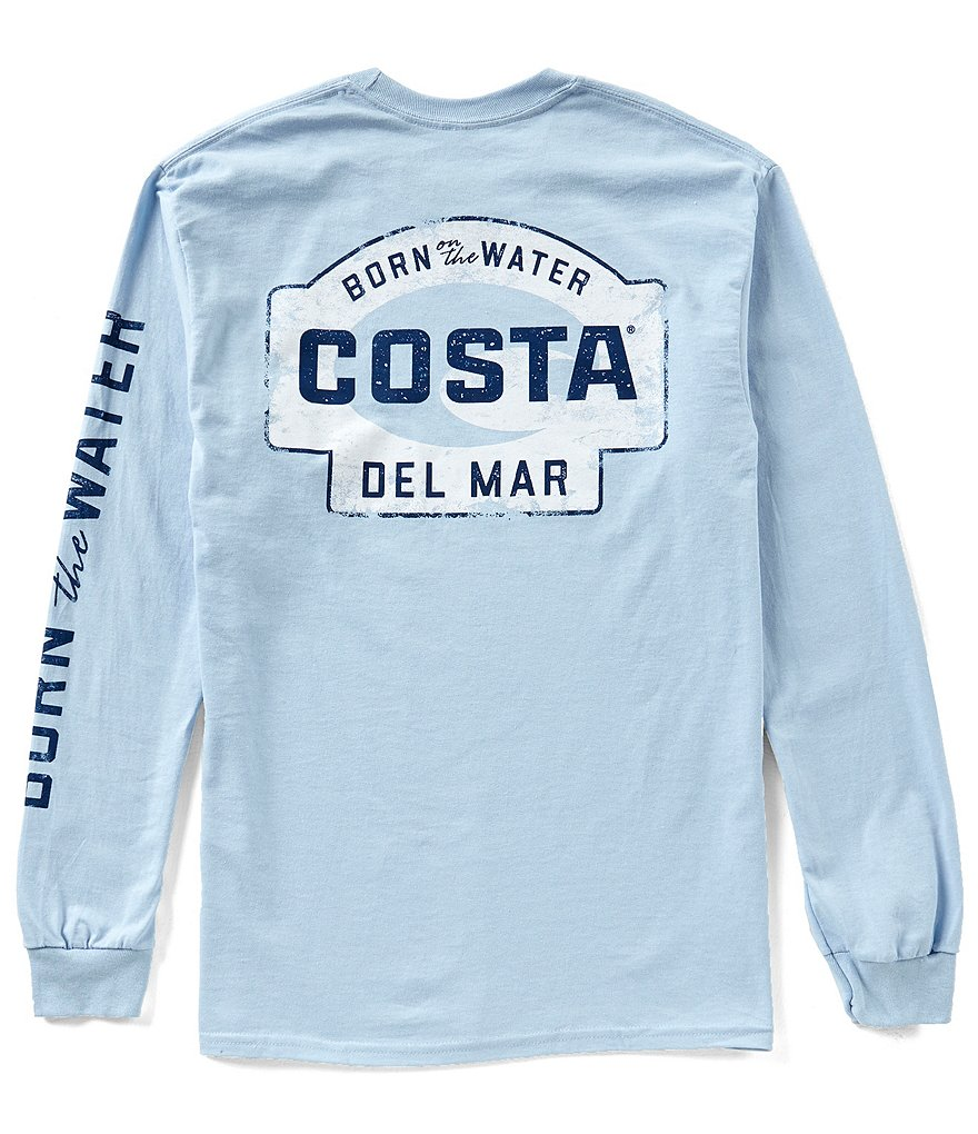 Costa Miramar Long-Sleeve Graphic T-Shirt