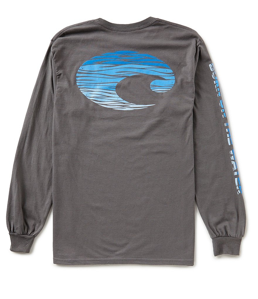 Costa Swell Long-Sleeve Graphic Tee