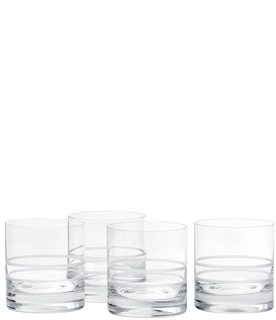 Crafthouse by Fortessa 4-Piece Tritan Double Old Fashioned Glass Set