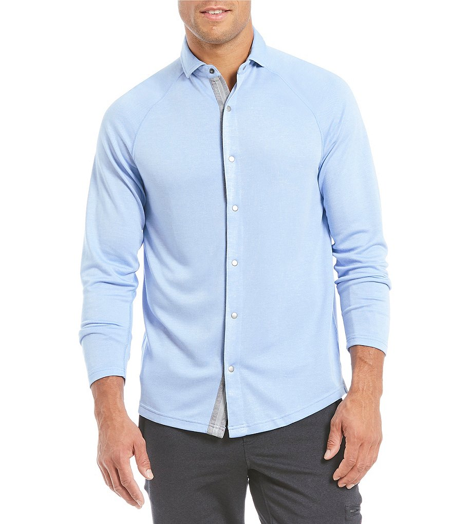Cremieux Club 38 Performance Long-Sleeve Travel Shirt