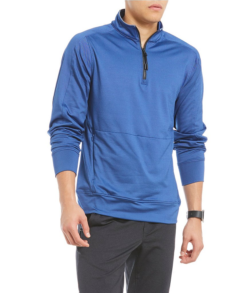 Cremieux Club 38 Performance Sideline Quarter-Zip Pullover