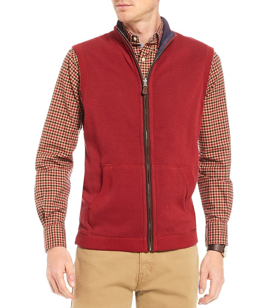 Cremieux Full-Zip Reversible Vest